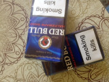 Tutun Red Bull Halfzware Shag - tutun pentru rulat---40 grame-MINIM 4 PACHETE!
