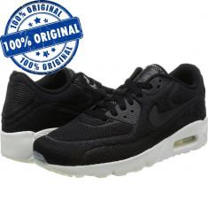 Pantofi sport Nike Air Max 90 Ultra 2.0 BR pentru barbati - adidasi originali - Adidasi barbati Nike, Marime: 42, 42.5, 43, 44, Culoare: Negru, Textil