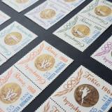 ROMANIA-1964-Jocurile Olimpice Tokyo - dantelate + nedantelate X 2, Nestampilat