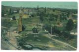 4197 - Prahova, TINTEA, oil wells - old postcard - used - 1912, Circulata, Printata
