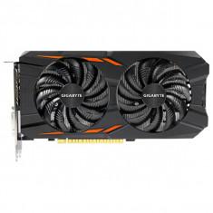 Placa video Gigabyte NVIDIA GeForce GTX 1050 Ti Windforce OC 4G, 4GB GDDR5, 128bit, GV-N105TWF2OC-4GD - Placa video PC