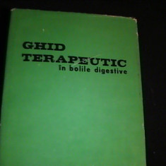GHID TERAPEUTIC IN BOLILEV DIGESTIVE-COLECTIV COORD.-ION ATANASESCU-338 PG- - Carte Gastroenterologie