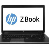 Laptop HP zBook 17, Intel Core i7 Gen 4 4600M 2.9 Ghz, 16 GB DDR3, 250 GB SSD NOU, nVidia Quadro K3100M, WI-FI, Bluetooth, Tastatura Iluminata,
