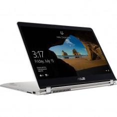 Laptop Asus ZenBook Flip UX561UA-BO005R 15.6 inch FHD Touch Intel Core i7-8550U 8GB DDR4 1TB HDD 128GB SSD Windows 10 Pro Silver