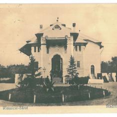 4209 - RM. SARAT, Buzau - old postcard, CENSOR - used - 1918 - Carte Postala Muntenia 1904-1918, Circulata, Printata
