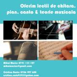 Oferim lecții de chitară, pian, canto și teorie muzicală pentru toate nivelurile