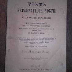 VIATA REPAUSATILOR NOSTRI SI VIATA NOASTRE DUPE MOARTE -PARINTELE MITROFAN, 1890 - Vietile sfintilor