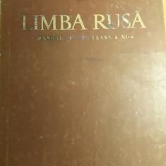 RWX 13 - MANUAL LIMBA RUSA - CLASA XI - EDITIA 1964