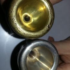 Mustiuc alama stantat, mustiuc argintat mare pt.instrument de suflat, T.GRATUIT