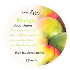 Body Butter - Mango - Crema de corp Derma V10