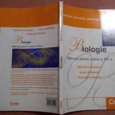Biologie. Manual pentru clasa a XII-a - Gabriel Corneanu, A. Dorneanu, Gh. Mohan - Manual scolar corint, Clasa 12, Corint