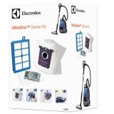Set 4 saci s-bag Ultra Long Performance, un s-filter Allergy Plus ELECTROLUX, un filtru motor, 4 plicuri odorizante s-FRESH Lemon - Saci Aspiratoare