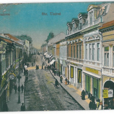 4221 - CRAIOVA, street Unirii - old postcard - unused - Carte Postala Oltenia 1904-1918, Necirculata, Printata