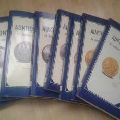 Cataloage de licitatii numismatice 61 buc diferite
