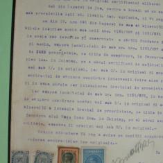 C3 COALA FISCALA 100 LEI VERDE1939 - Timbre Romania, Stampilat