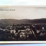 RAMNICU VALCEA-VEDERE GENERALA-CARTE POSTALA ANII 40 - Carte postala tematica, Circulata, Fotografie