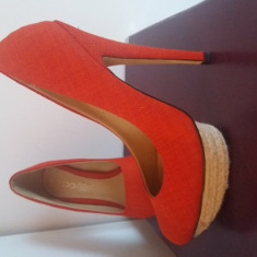 Pantofi Aldo nr 37 - Pantof dama Aldo, Culoare: Rosu, Cu toc