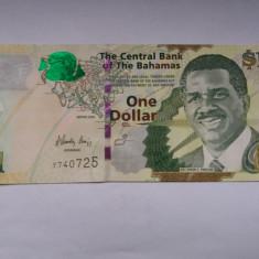 Bahamas 1 dollar 2008 - bancnota america