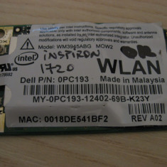 Placa wireless Dell Inspiron 1720, Intel WM3945ABG MOW2, 0PC193