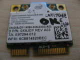 Placa wireless Dell Latitude E6420, Intel Advanced-N 6205, 6205ANHMW, 0X9JDY