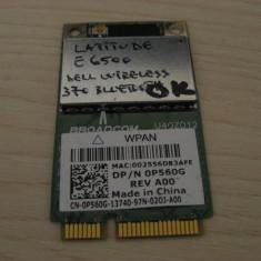 Placa bluetooth Dell Latitude E6500 Dell Bluetooth 370 WPAN 0P560G BCM92046MPCIE