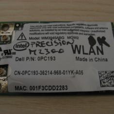 Placa wireless Dell Precision M2300, Intel WM3945ABG MOW2, 0PC193