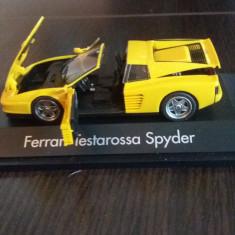 Macheta ferrari testarossa spyder 1984-1996 - herpa, scara 1/43. - Macheta auto