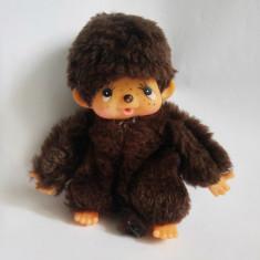 Jucarie plus mascota Monchhichi (kiki, Moncici) maimutica maimuta 12 cm - Jucarii plus