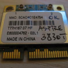 Placa wireless Acer Aspire 3830T, T77H167.07, AR5B97