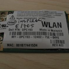 Placa wireless Dell Inspiron E1705, Intel WM3945ABG MOW2, 0PC193