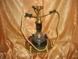 Cumpara ieftin Islamica! Shisha/narghilea bronz masiv, 3 persoane, colectie/cadou