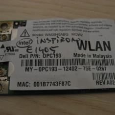 Placa wireless Dell Inspiron E1405, Intel WM3945ABG MOW2, 0PC193