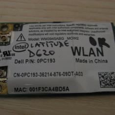 Placa wireless Dell Latitude D620, Intel WM3945ABG MOW2, 0PC193