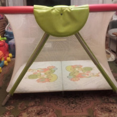 Tarc joaca copii; dimensiuni 107/110/100 - Tarc de joaca Cam, Rosu