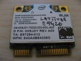 Placa wireless Dell Latitude E5420, Intel Advanced-N 6205, 6205ANHMW, 0X9JDY