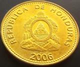 Moneda 20 Centavos de Lempira - HONDURAS, anul 2006  *cod 2286  UNC, America Centrala si de Sud
