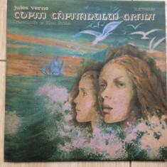 Jules verne copiii capitanului grant disc vinyl lp dramatizare poveste copii exe - Muzica pentru copii electrecord, VINIL