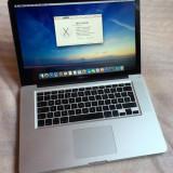 """Macbook Pro 15"""" - 2011 - i7 - 8 GB RAM - HDD 500 GB - Baterie Noua - Laptop Macbook Pro Apple, 15 inches, Intel Core i7"""