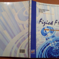 Fizica F1/F2, Manual pentru clasa a XII-a - R. Ionescu-Andrei, C. Onea, I.Toma - Manual scolar art, Clasa 12, Art
