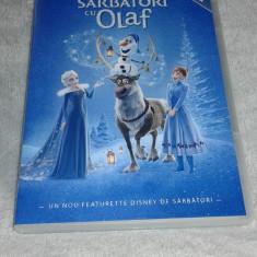 Disney Regatul de gheata Sarbatori cu Olaf - dublat romana - Film animatie disney pictures, DVD