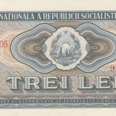 * Bancnota 3 lei 1966 - P - Bancnota romaneasca