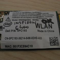Placa wireless Dell Inspiron 6400, Intel WM3945ABG MOW2, 0PC193