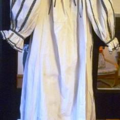 Camase cu poale 3 - Costum populare, Marime: XXL, Culoare: Alb