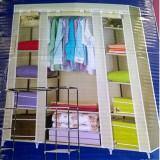 Dulap Textil Triplu Material Textil(PP ecologic) GIGANT Sifonier 150X45X175