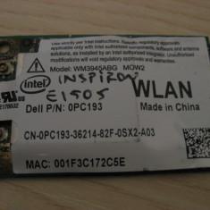 Placa wireless Dell Inspiron E1505, Intel WM3945ABG MOW2, 0PC193