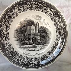 Farfurie decorativa vintage, portelan Villeroy&Boch