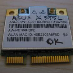 Placa wireless Asus X550L, AW-NE186H(B9), Atheros AR5B125, 0C001-00050400