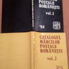 Catalogul Marcilor Postale Romanesti. 2 Volume - Elaborat de: Corneliu Spineanu