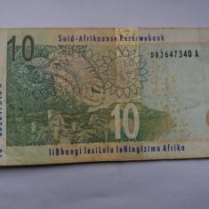 Africa de Sud 10 rand 2005 - bancnota africa