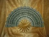 Islamica! Evantai mare, caligrafie Coran, bambus, colectie cadou